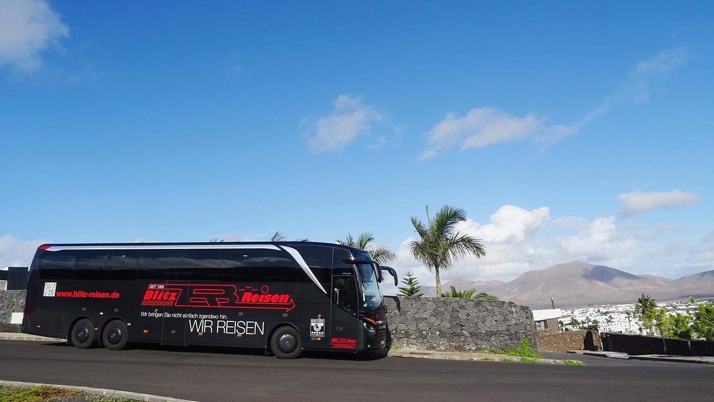 Blitz-Bus in Spanien