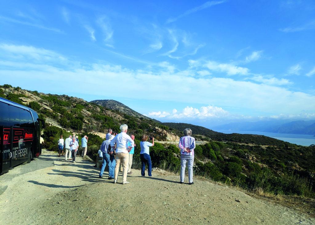 Fotostopp am Cap Corse auf Korsika