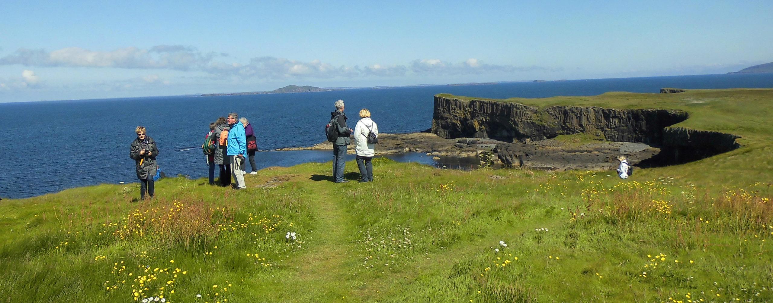 Fotostopp an der Küste Schottlands 2