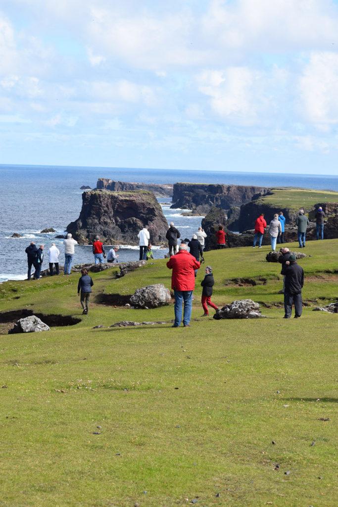 Pause an der Küste Schottlands