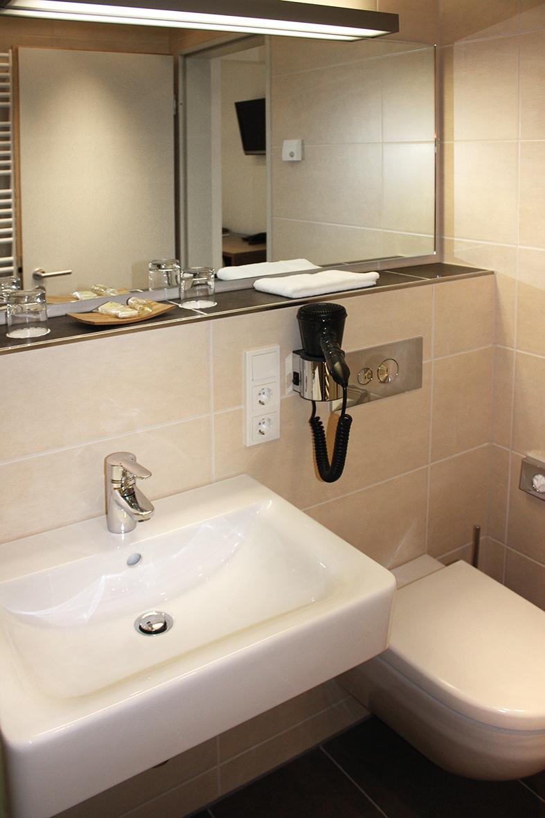 Gästezimmer Waschbecken