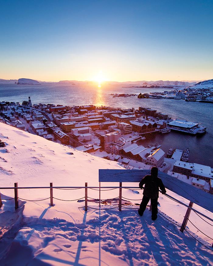 Hammerfest im Winter