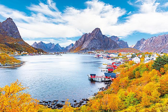 Herbst auf den Lofoten