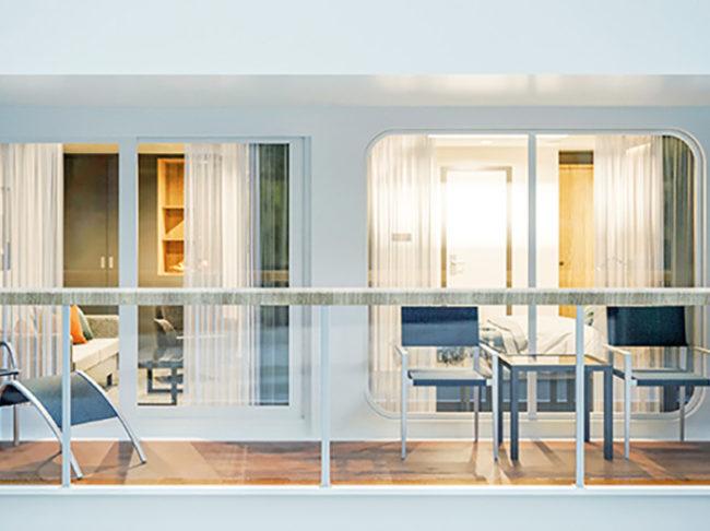 Junior Suite mit Balkon