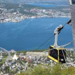 Seilbahn in Tromsø