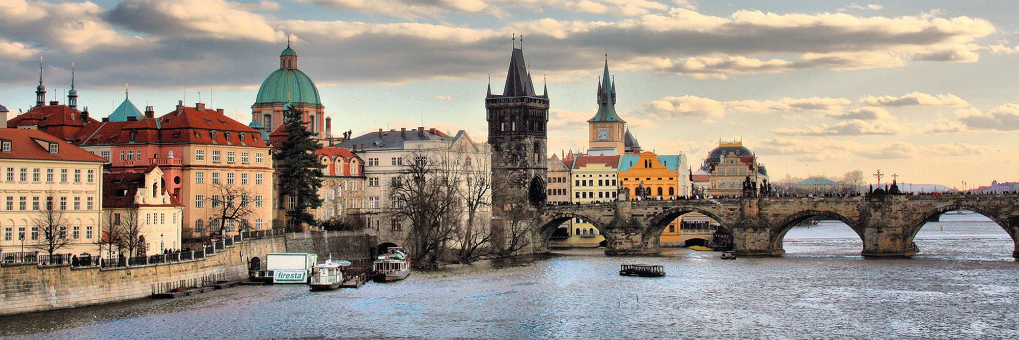 Slider Tschechien Prag Karlsbrücke