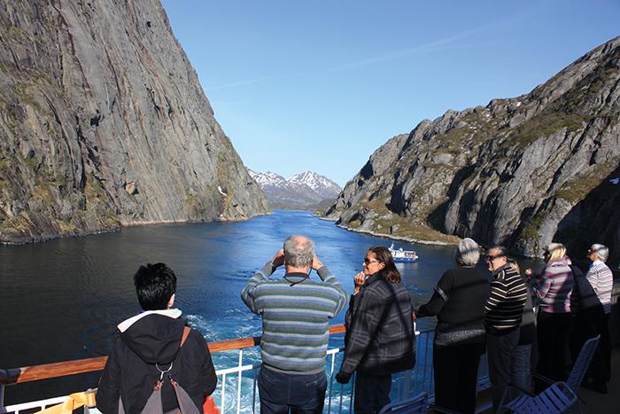 Trollfjord Aussicht