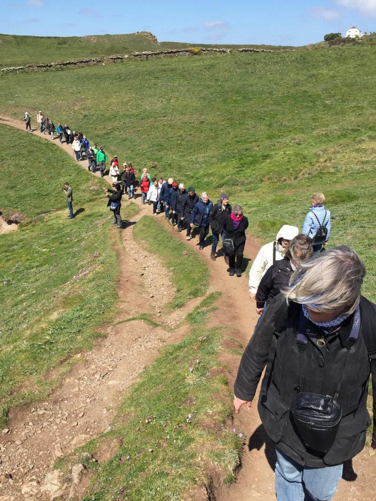 Wanderung auf der Lizard-Halbinsel in Cornwall