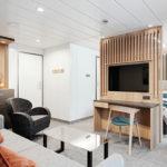 Wohnbereich Suite andere Perspektive