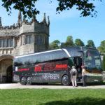 Blitz-Bus in Lanhydrock, England